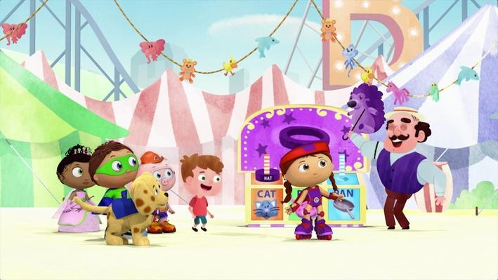 Super Why!: The Rhyming Carnival