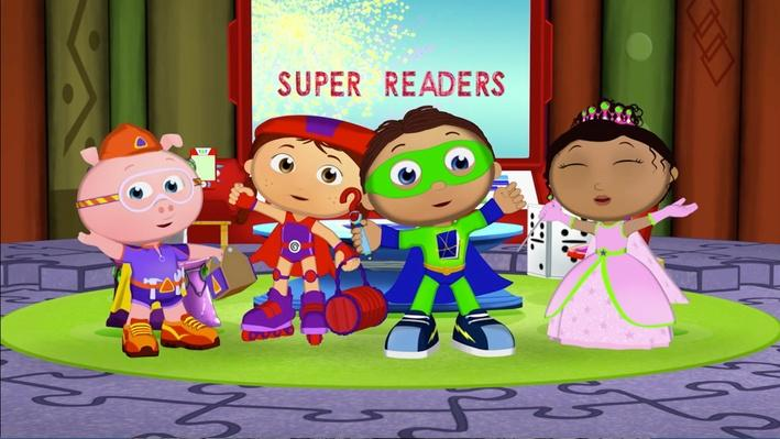 Super Why!: The Story of the Super Readers