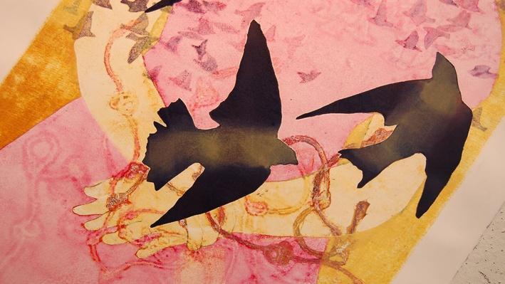 Susan Carney l Monotype Art