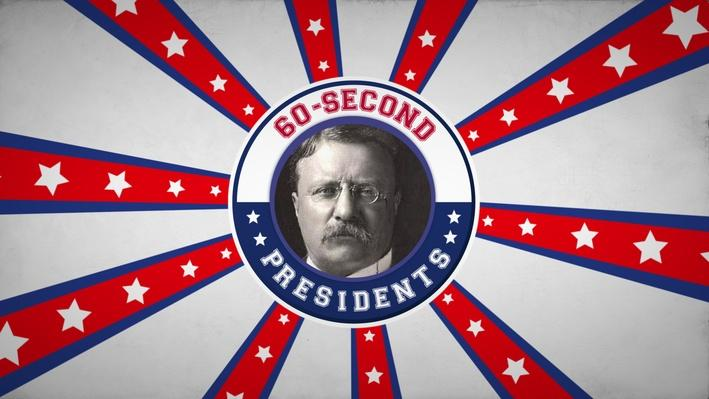 Theodore Roosevelt | 60-Second Presidents