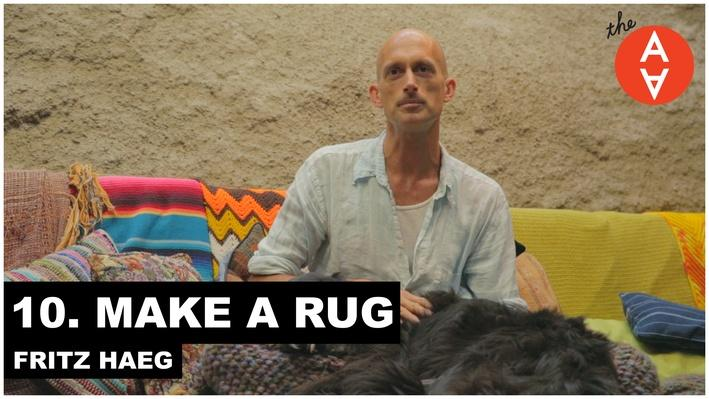 Make a Rug: Fritz Haeg | The Art Assignment
