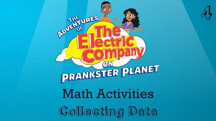 Collecting Data | The Electric Company Math Activities