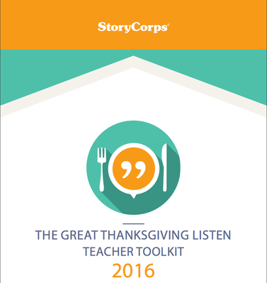 Teacher Toolkit | The Great Thanksgiving Listen