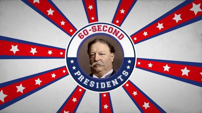William Howard Taft | 60-Second Presidents