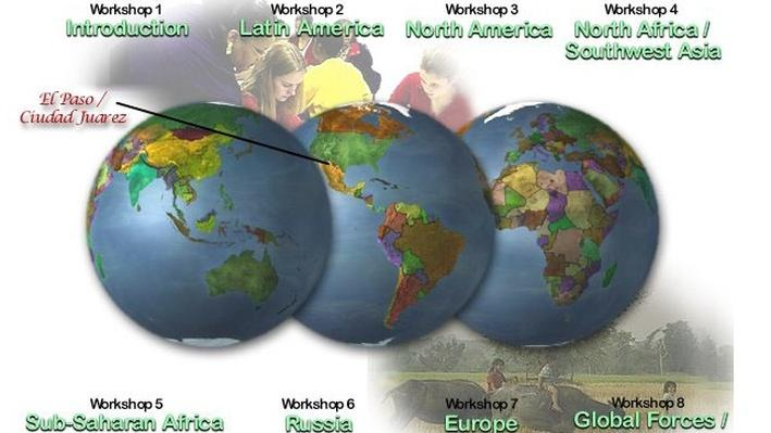 North America | Teaching Geography: Workshop 3