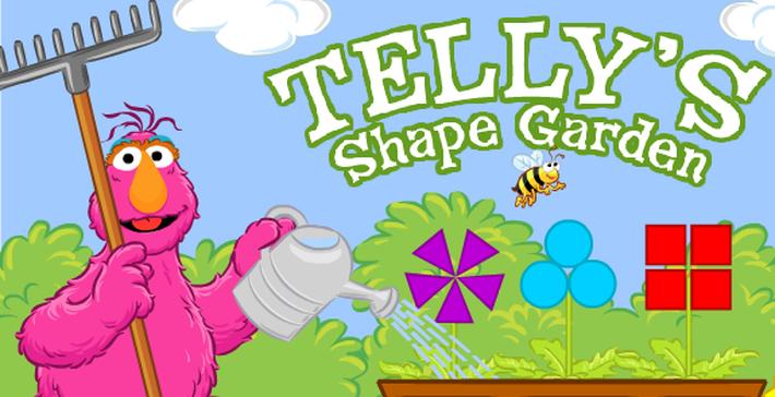 Telly's Shape Garden | Sesame Street