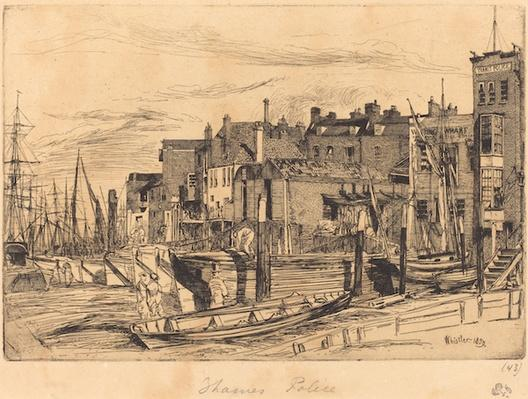 Thames Police, 1859 | James McNeill Whistler