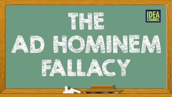 The Ad Hominem Fallacy | PBS Idea Channel