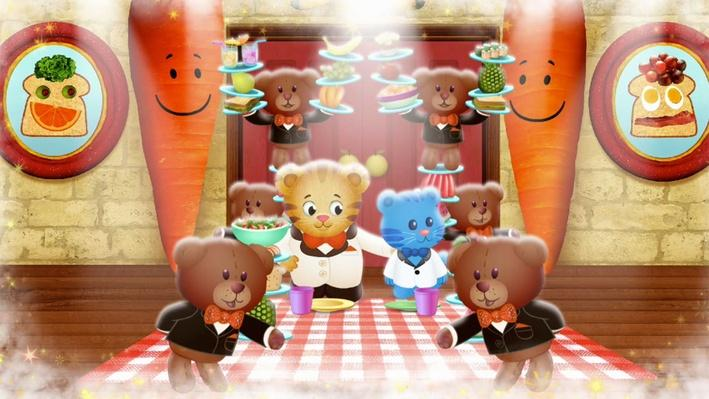 The Silly Restaurant | Daniel Tiger's Neighborhood