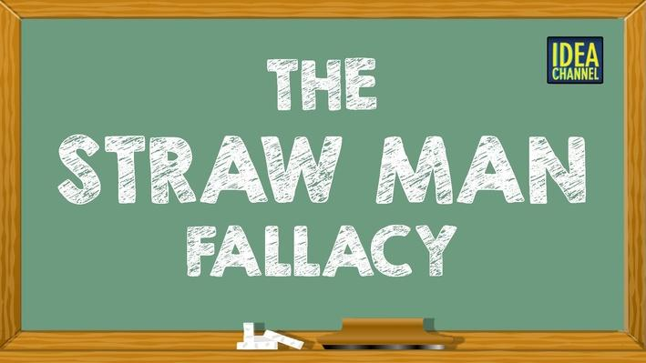 The Straw Man Fallacy | PBS Idea Channel