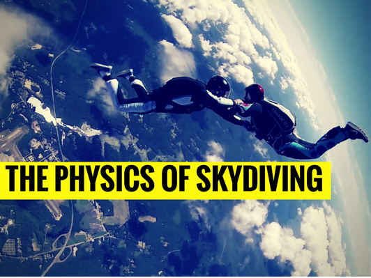 The Physics of Skydiving   MIT's Science Out Loud