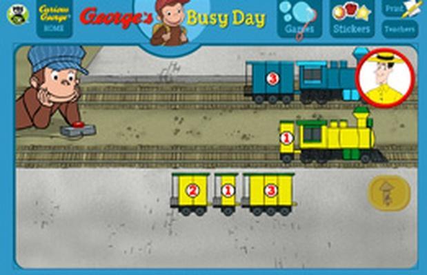 Train Station - Curious George | PBS KIDS Lab