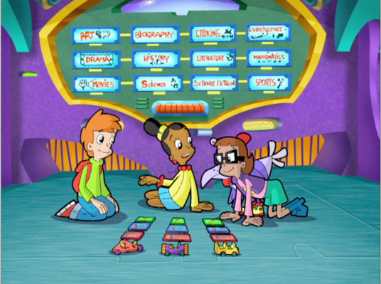 Transporting to Ms. Fileshare | Cyberchase