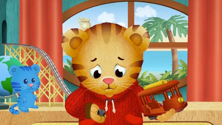 Trolley's Wheels Fell Off | Daniel Tiger's Neighborhood