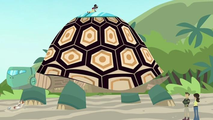 Trouble with the Tortuga | Wild Kratts