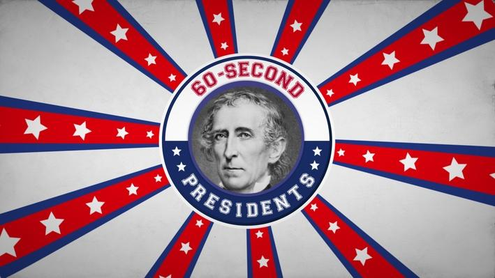 John Tyler | 60-Second Presidents