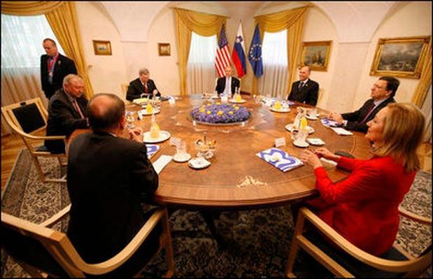President Bush, US - Europe Summit 2008