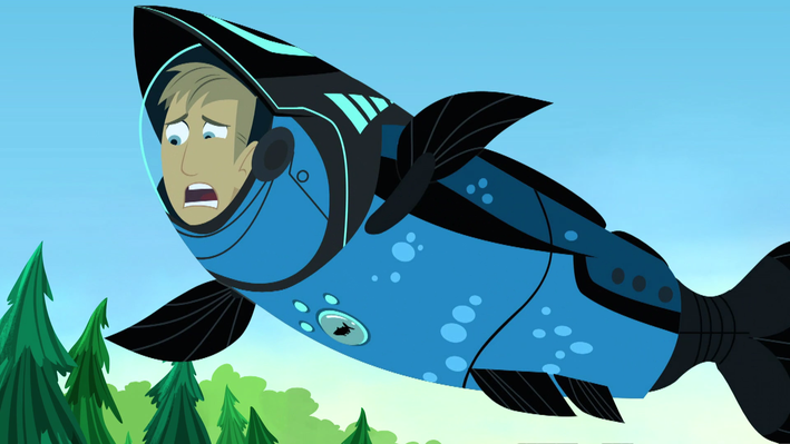 Up the Waterfall | Wild Kratts