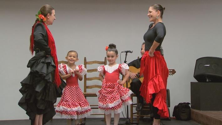 Flamenco Dance Studio Field Trip