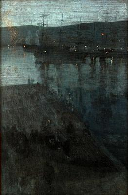 Nocturne in Blue and Gold: Valparaiso | James McNeill Whistler