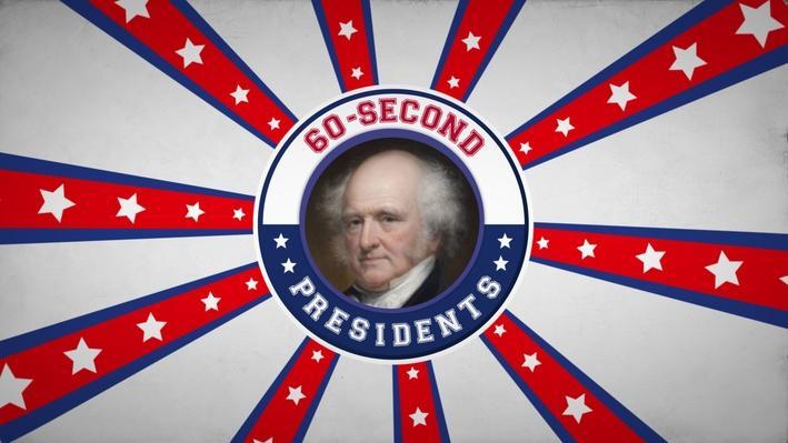 Martin Van Buren | 60-Second Presidents