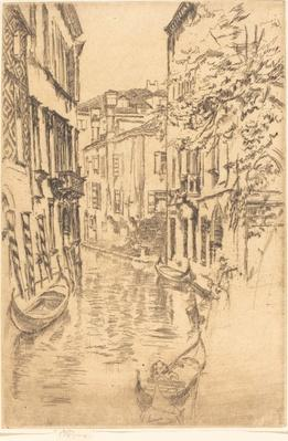 The Quiet Canal, 1879/1880 | James McNeill Whistler