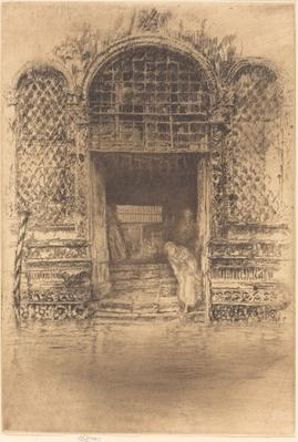 The Doorway, 1879/1880 | James McNeill Whistler
