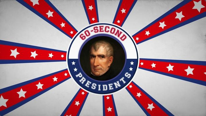 William Henry Harrison | 60-Second Presidents