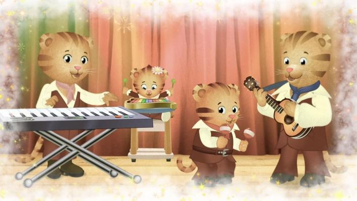 We're the Tiger Family Band | Daniel Tiger's Neighborhood