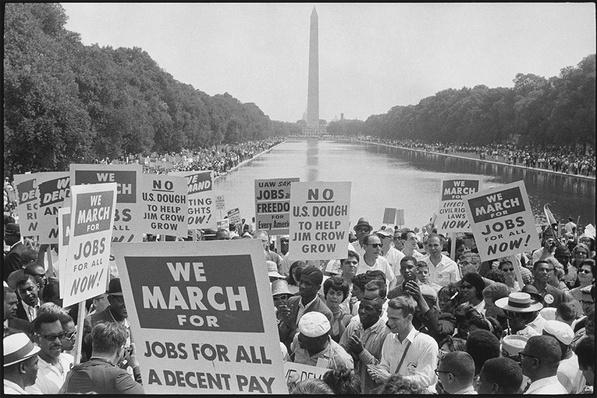 50th Anniversary of the March on Washington Lesson Plan: A Time for Change