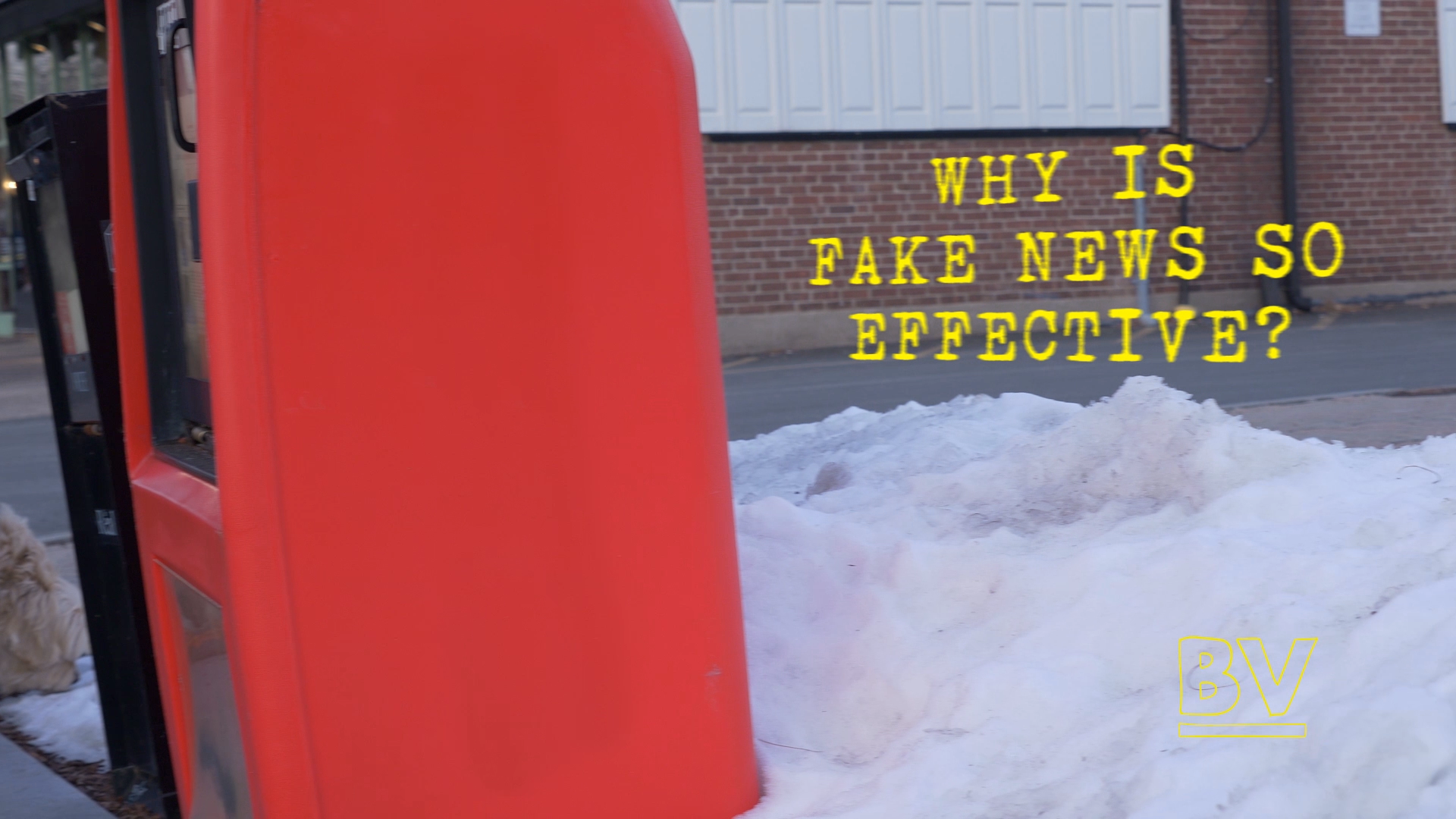 Why Is Fake News So Effective?
