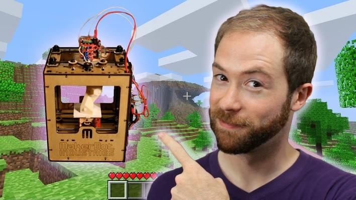 Will Minecraft and Makerbot Usher in the Post-Scarcity Economy? | PBS Idea Channel