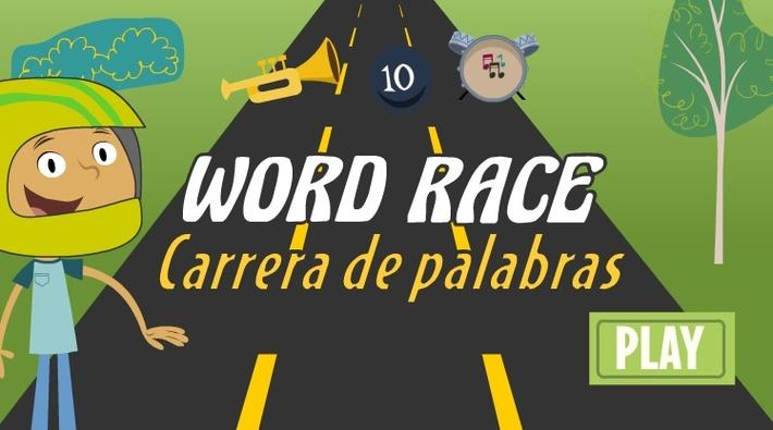 Daring Young Man Word Race