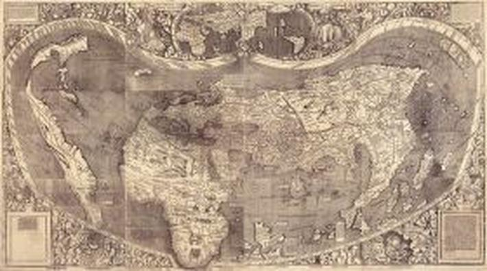World Map in 1507