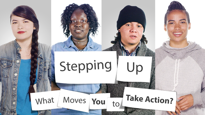 Stepping Up: Youth Media Challenge