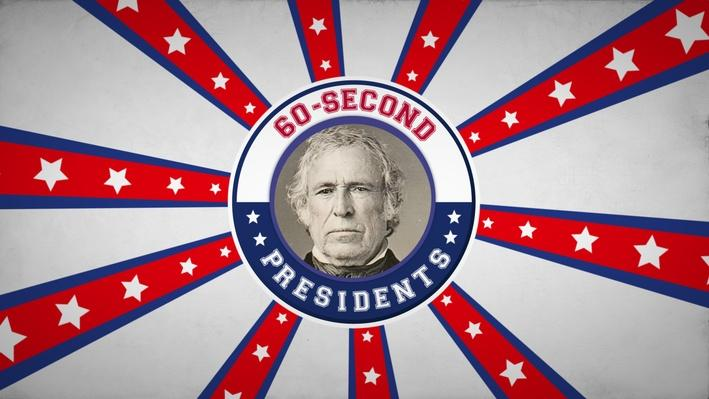 Zachary Taylor | 60-Second Presidents