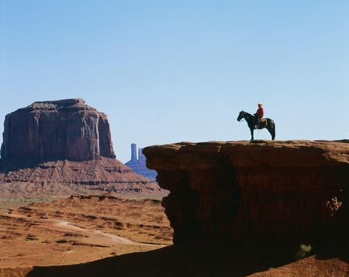 Navajo Indian on Horse | Earth's Resources