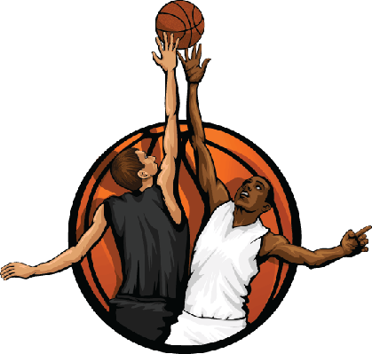 Basketball Jump Ball | Clipart