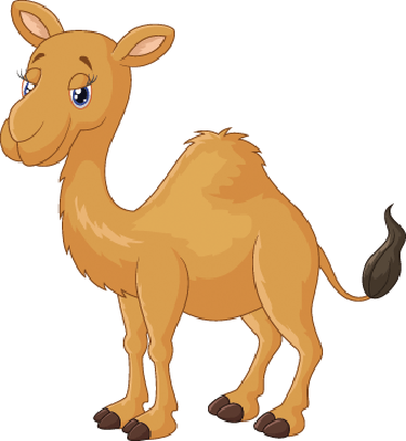 Cartoon Camel | Clipart