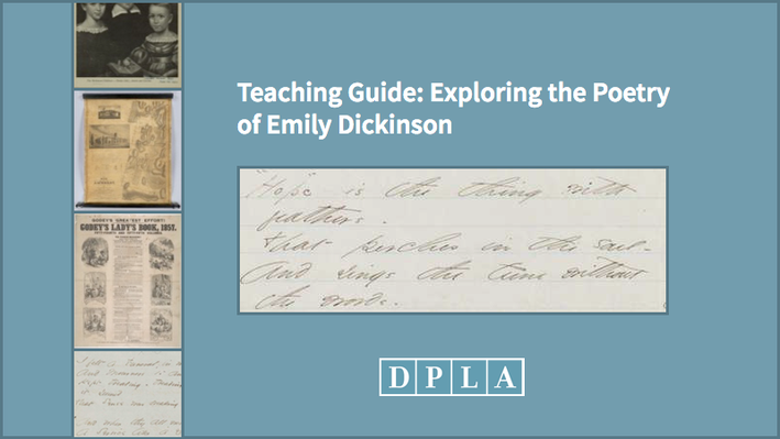 Teaching Guide: Exploring the Poetry of Emily Dickinson