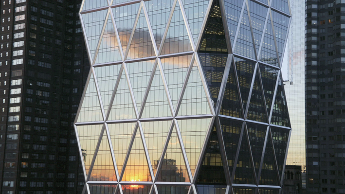 "Analyzing its Geometry and Energy Efficiency | Treasures of New York: ""Hearst Tower"""