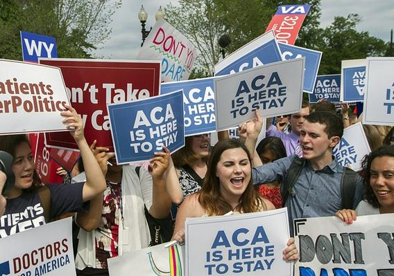 Supreme Court Upholds Health Care Law Subsidies