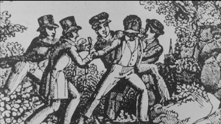 Alexander Clark Helps a Fugitive Slave