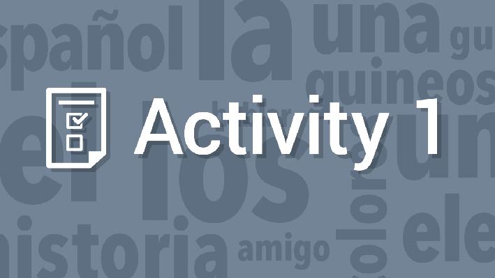 Spanish Vocabulary and Syntax / Vocabulario y sintaxis del español | Supplemental Spanish Grades 3-5