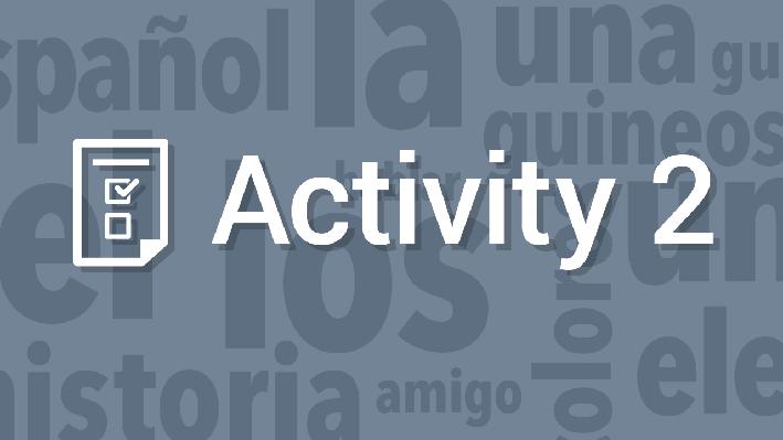Participation in Spanish-Speaking Communities - Media Exchange / Participación en comunidades hispanohablantes - Medios masivos de comunicación | Supplemental Spanish Grades 3-5