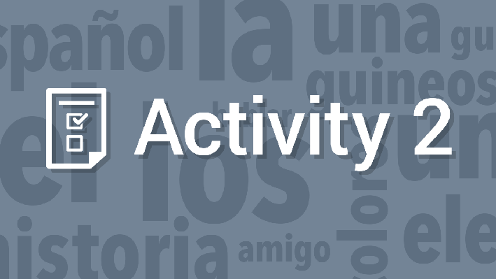 Interrogative Words / Las palabras interrogativas | Supplemental Spanish Grades 3-5