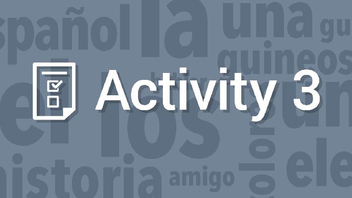 Familiar Topics and Language / Lenguaje y temas comunes   Supplemental Spanish Grades 3-5