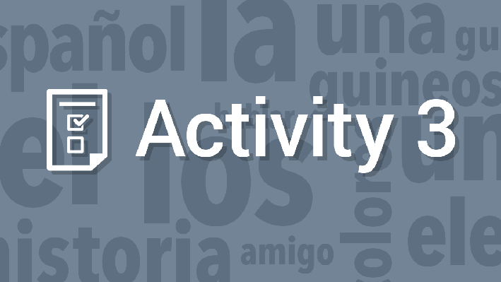 Writing - Vocabulary / Escritura - Vocabulario | Supplemental Spanish Grades 3-5