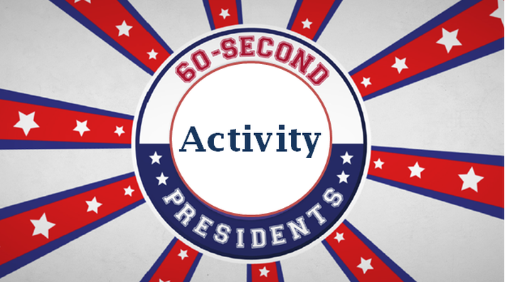 Personality or Politics Activity | 60-Second Presidents