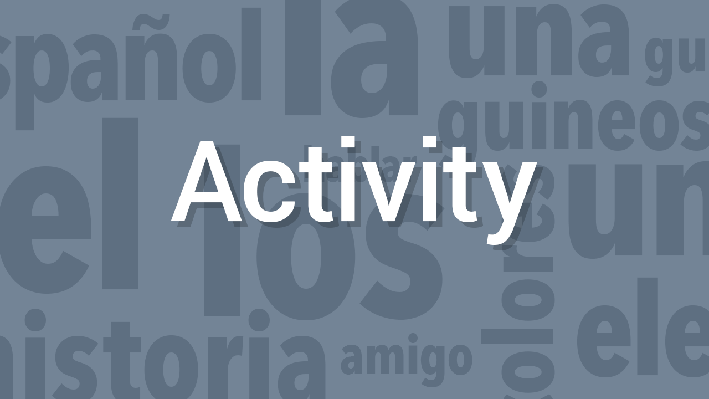 Interactive Spontaneity / Interacción espontánea | Supplemental Spanish Grades 3-5